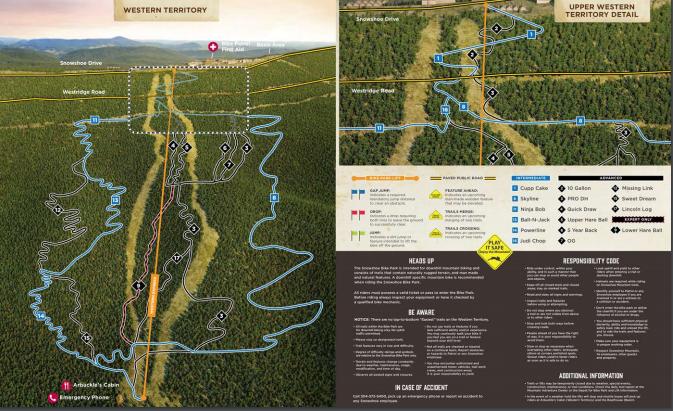 Bike Park Map 2
