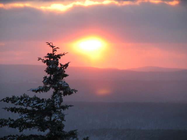 Snowshoe Sunsets